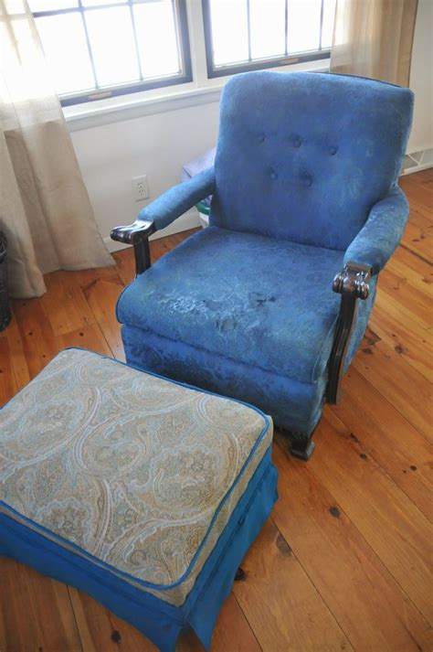 Upholstery For Chairs by Transforming A White Chair With Rit Dye Via Www