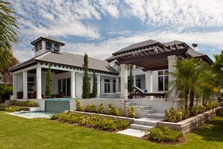 Contemporary On The Water  Tropical  Exterior Miami