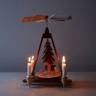 German Candles Pyramid Handcrafted Wooden Food52 Pyramids