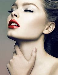 Holiday Makeup Red Lips