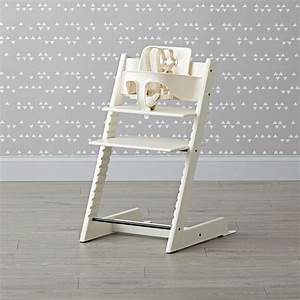 Stokke Tripp Trapp Set : white stokke tripp trapp chair baby set the land of nod ~ Eleganceandgraceweddings.com Haus und Dekorationen