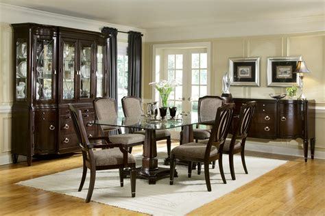 ortanique glass dining room set glass dining room sets lightandwiregallery