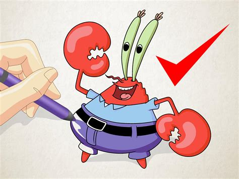 How To Draw Mr. Krabs From Spongebob Squarepants