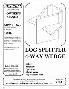 Swisher 18840 Series 4