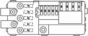 Mercedes-benz R-class  W251  - Fuse Box Diagram