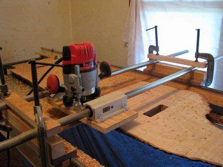 router sled  flatten large slabs  woodshop