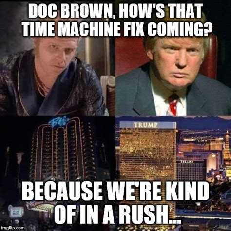 Doc Brown Meme - back to the future imgflip