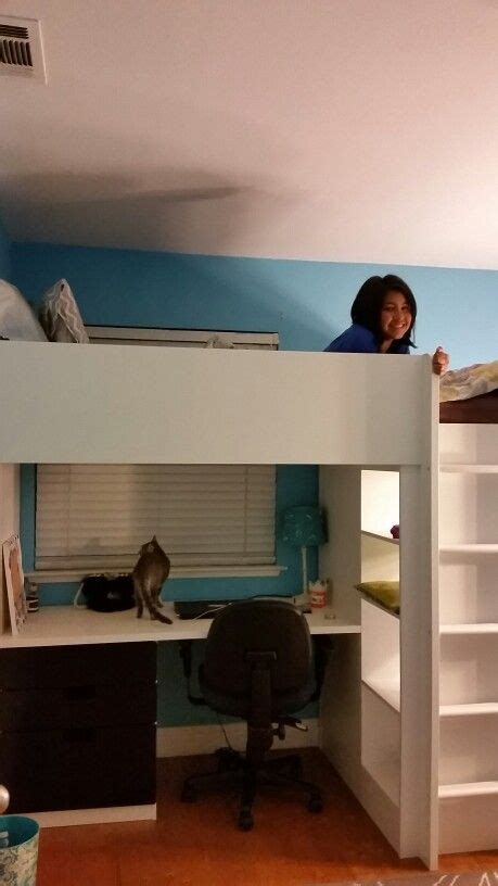 ikea stuva loft bed  loves   ladder