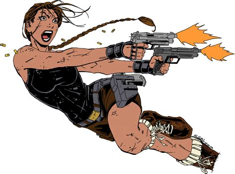 Lara Croft Doodle No.1 By Twicebefore On Deviantart