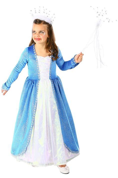 Blizzard Queen Frozen Elsa Costume Child | eBay