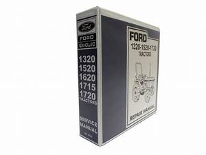 Ford 1320  1520  1620  1715  1720 Tractor Service Manual Repair Shop Book New