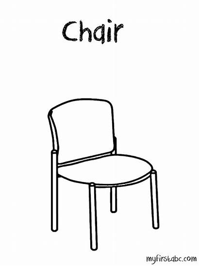 Chair Coloring Pages 958px 99kb