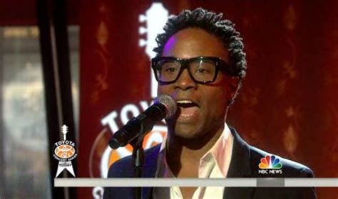 Watch Billy Porter Performs Today Show Out Magazine