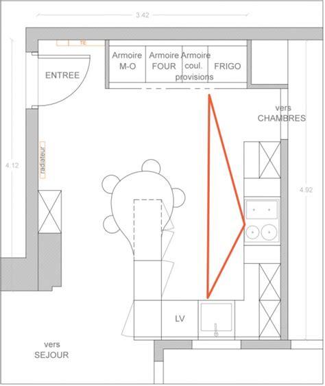 exemple plan de cuisine comment optimiser le plan de sa cuisine le déco