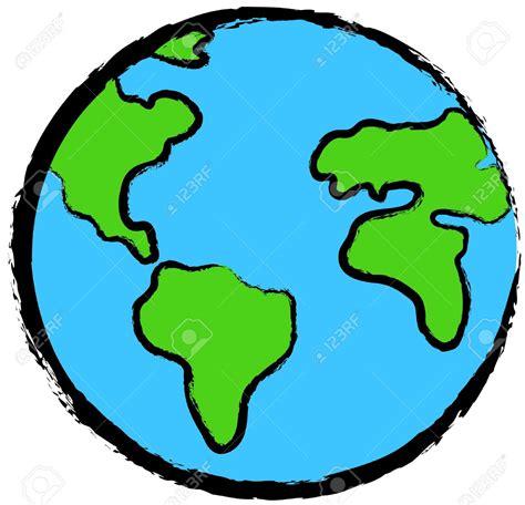 Globe clipart espanol - Pencil and in color globe clipart ...