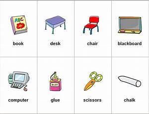 Dibujos de utiles escolares en ingles Imagui