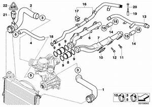 64218387521 - Hose F Radiator And Engine Return  Water  Cooling  Hoses