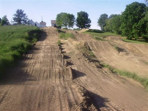 Dirt Track. Exactly Why I Want Some Land When We Buy A