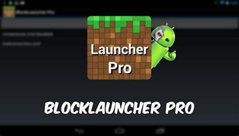 lançador pro para android baixar block