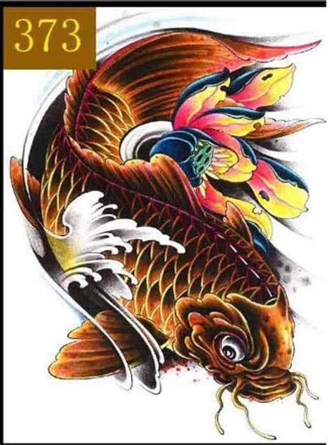 koi fish tattoo meaning color direction