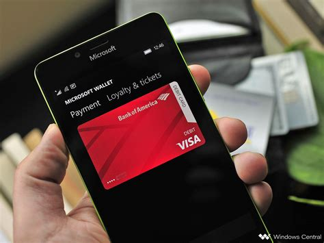 wallet 2 0 with nfc tap to pay is now rolling out to windows 10 mobile fast ring us only