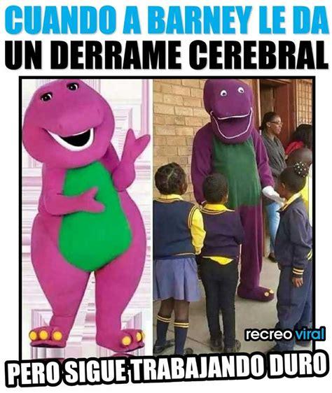 Barney Memes - funny barney the dinosaur memes www imgkid com the image kid has it