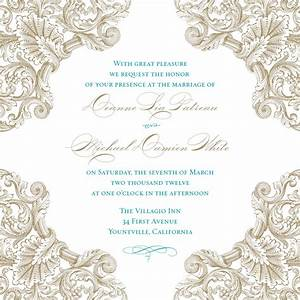 Best printable wedding invitation templates free templates for Wedding invitation video creator free