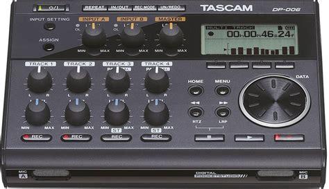 tascam dp  audiorecorder zwart conradnl