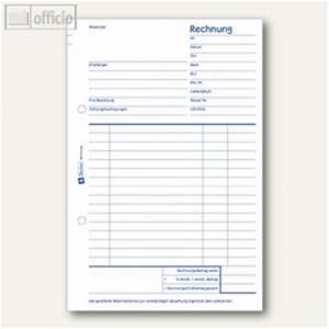 Büroartikel Auf Rechnung : zweckform formular rechnung din a5 50 blatt 703 b romaterial bei ~ Themetempest.com Abrechnung