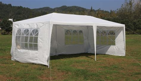 marques canap buy 3x6m gazebo outdoor marquee tent canopy white