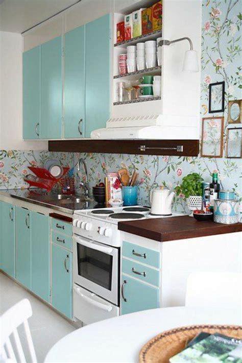 papier peint cuisine moderne le papier peint en 52 photos pleines d 39 idées