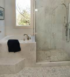 Soaking Tub with Shower and Bathroom