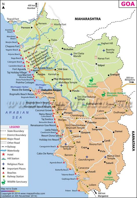 Goa Map  Explore India  Pinterest  Maps And Goa