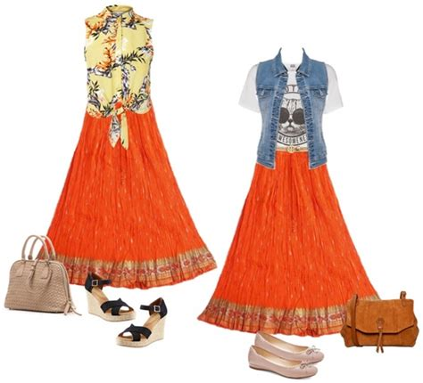 How to Wear and What to Wear with Long Skirts (Qu0026A) | Gorgeautiful.com