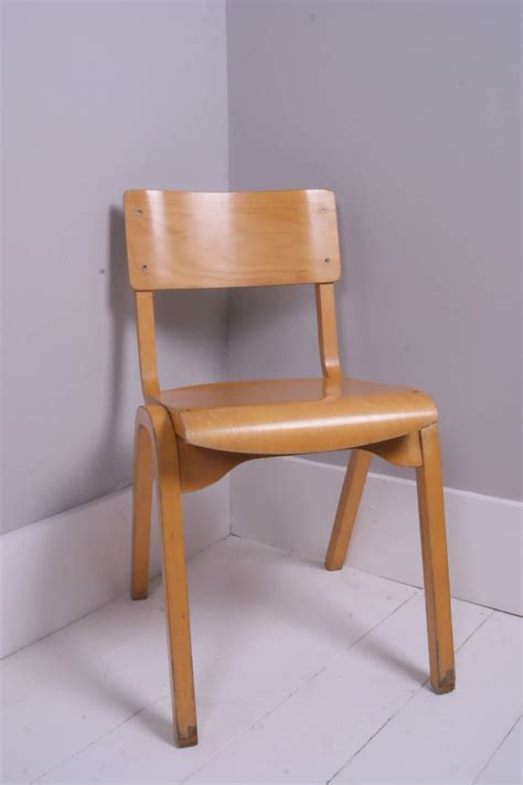 children s stackable wooden chairs blue ticking