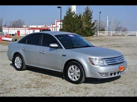 2009 Ford Taurus SE Silver For Sale Dealer Dayton Troy