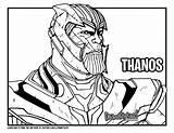 Thanos Endgame Avengers Draw Drawing Hulk Coloring Too Tutorial Drawittoo Printable Worksheet sketch template