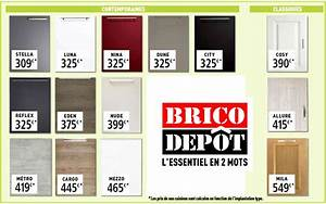 Facade De Cuisine Brico Depot : tout sur la cuisine et le mobilier cuisine ~ Melissatoandfro.com Idées de Décoration