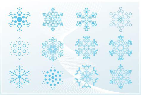 snowflake ornaments graphic art   vector