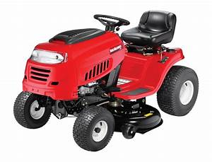 Front Engine Riding Lawn Mower Example