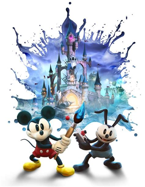 Epic Tales Of Mickey Mouse And Oswald The Lucky Rabbit On