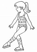 Coloring Skater Pages Figure Coloringtop sketch template