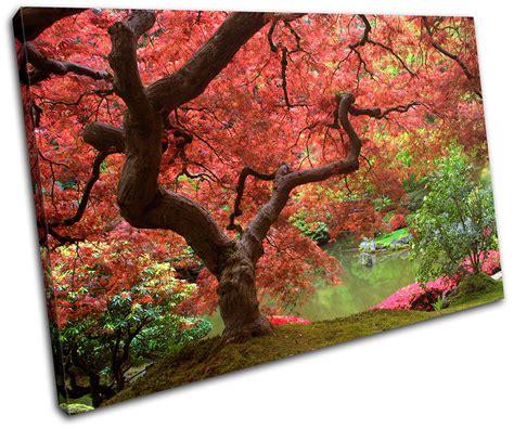 Tree Wall Decor Ebay by Cherry Blossom Tree Landscapes Single Canvas Wall