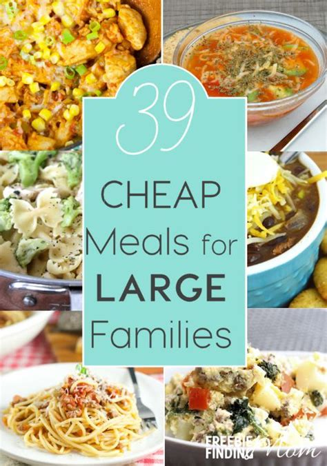 cheap recipes for dinner 39 cheap meals for large families cheap meals big family and recipe pasta