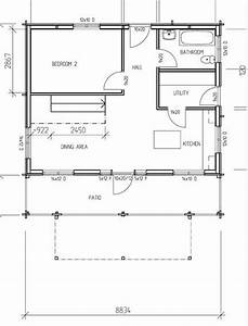 2 bedroom house plans timber frame houses for Bedroom timber frame house plans