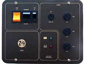 Zig Cf8 Charging  U0026 Distribution Control Panel System