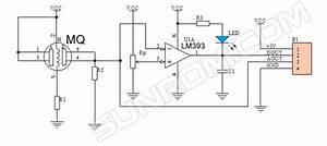 alcohol sensor module mq3 4753 sunrom electronics With gas sensor module