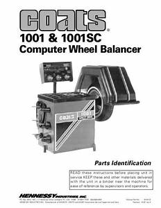 Coats 1001 Wheel Balancer Wiring Diagram