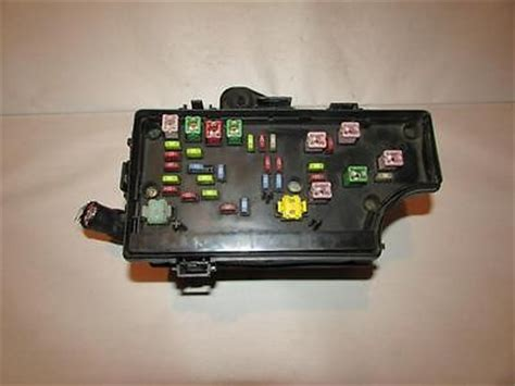 chrysler pt cruiser relay fuse box