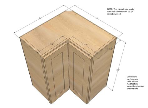 upper corner cabinet dimensions ana white wall corner pie cut kitchen cabinet diy projects